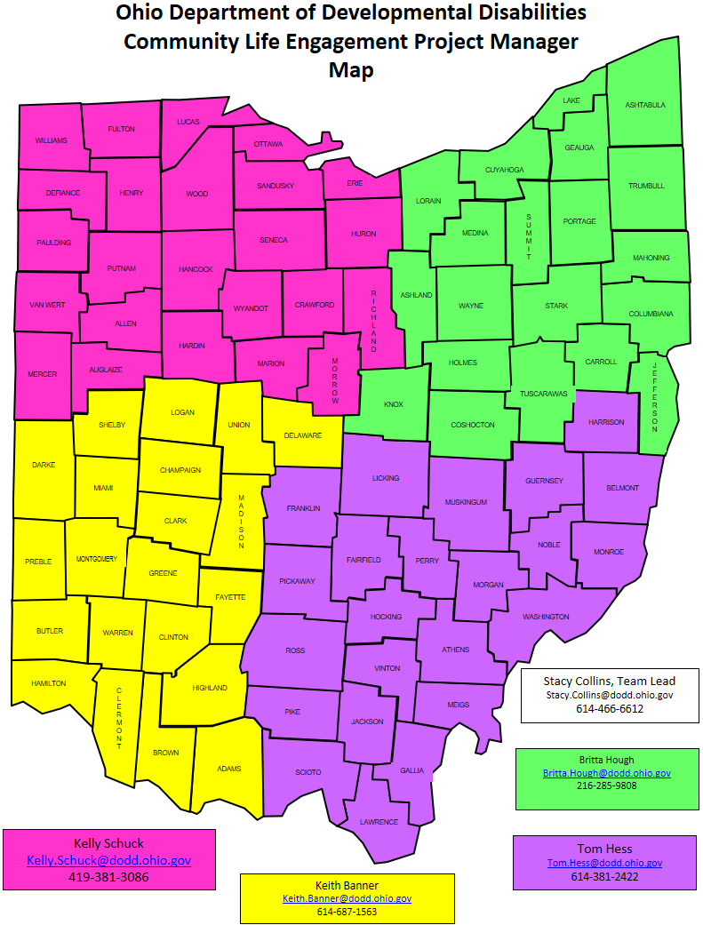 CLE Regional Map