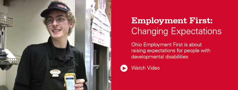 Rotating Image: Employment First: Changing Expectations Video